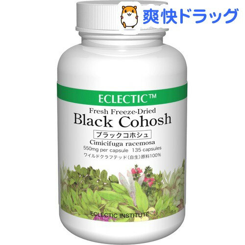 ECLECTIC(エクレクティック)INSTITUTE ブラックコホシュ(135カプセル)【ECLECTIC(エクレクティック)】