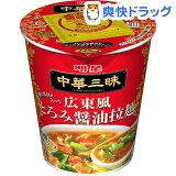 明星 中華三昧タテ型 広東風とろみ醤油拉麺(1コ入)