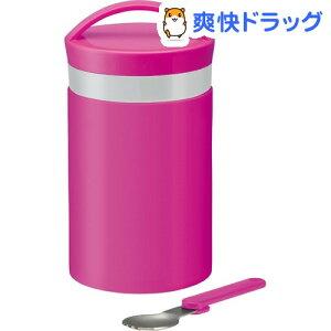 縦型保温ランチジャー ジョイカラー ピンク / ジョイカラー☆送料無料☆縦型保温ランチジャー ...