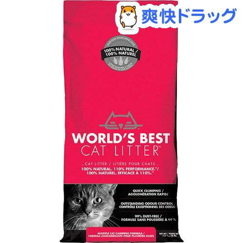猫砂 ワールドベストキャットリッター マルチキャット クランピングフォーミュラ(12.7kg)【d_wbcl】