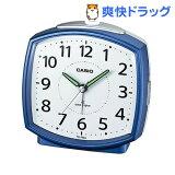 カシオ 電波置時計 ブルー TQ-740J-2JF(1コ入)
