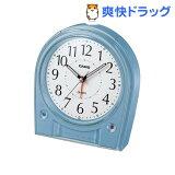 カシオ 電波置時計 パールブルー TQ-580J-2JF(1コ入)