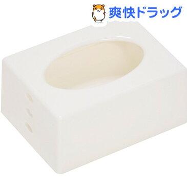 ポケットティッシュケース ホワイト(1コ入)