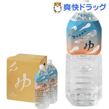 Beppu ゆ 天然温泉水100%(2L*6本)