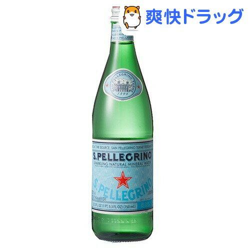 サンペレグリノ 炭酸水(750mL*12本入)【サンペレグリノ(s.pellegrino)】[リフレッシュ ミネラルウォーター 水]【送料無料】