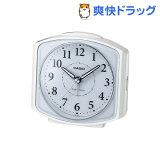カシオ 電波置時計 ホワイト TQ-700J-7JF(1コ入)