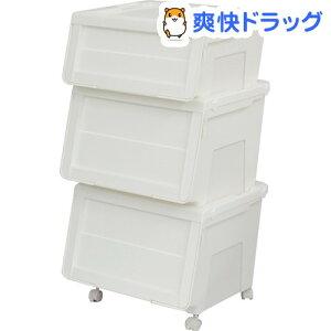 プロフィックス カバコ 浅深型 3段 キャスター付 ホワイト / プロフィックス☆送料無料☆プロフ...