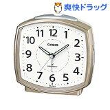 カシオ 電波置時計 シャンパンゴールド TQ-740J-9JF(1コ入)