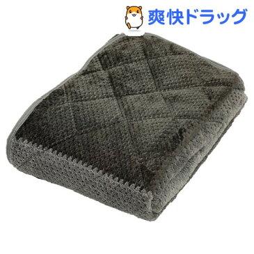 HEAT WITH 吸湿発熱あったか敷きパッド シングル グレー CM09392075GR(1枚)【西川】