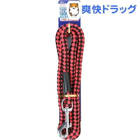 ダイスキ DSペットプラスリード12/赤黒(1コ入)【ダイスキ】