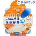 キチントさん ごはん冷凍保存容器 一膳分(5コ入)【キチントさん】