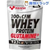 ケンタイ 100%CFM ホエイプロテイン グルタミン プレーン K0220(850g)