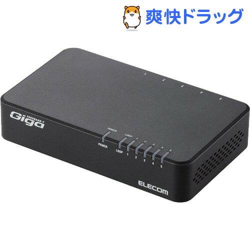 PCアクセサリー, USBハブ  1000BASE-T 5 EHC-G05PN-JB(1)(ELECOM)