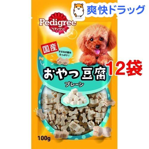 ペディグリースナック おやつ豆腐 プレーン(100g*12コセット)【d_snack】【ペディグリー(Pedigree)】