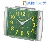 カシオ 置時計 シルバー TQ-379-8JF(1コ入)