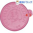 リッチェル 犬用 缶詰のフタ ピンク(1コ入*4コセット) その1