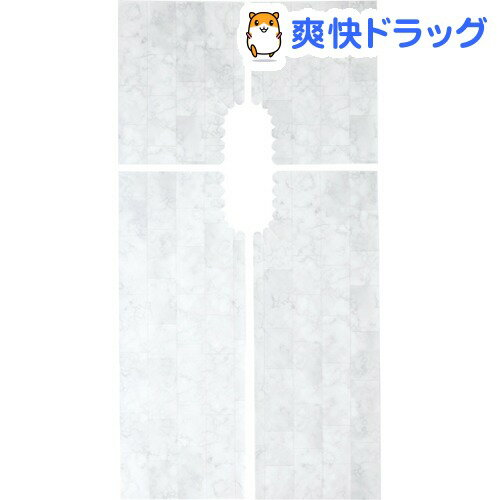 トイレ床模様替えシート 大理石柄(1枚入)