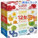スコッティ ティシュー フラワーボックス(320枚(160組)*5コ入*12セット)【スコッティ(S...