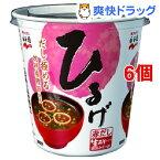 永谷園 カップ入生みそタイプみそ汁 ひるげ(1食分*6コセット)