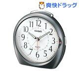 カシオ 置時計 メタリックグレー TQ-378-8JF(1コ入)