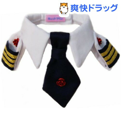 キャットプリン レディースにゃん 襟章ネクタイシャツ ローズ(1枚入)【送料無料】