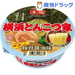 ニュータッチ 凄麺 横浜とんこつ家 豚骨醤油味 / 凄麺 / カップラーメン カップ麺 インスタント...