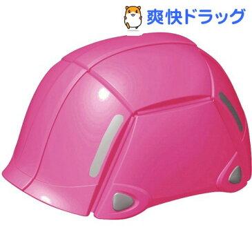 トーヨー(TOYO) 防災用折りたたみヘルメット ブルーム NO.100 ピンク(1コ入)【トーヨー(TOYO)】