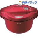 シャープ 水なし自動調理鍋 ヘルシオホットクック レッド系 KN-HT24B-R(1台)【シャープ】【送料無料】