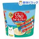 チャオ ちゅ〜るグルメ かつお 海鮮バラエティ 3種類の味入り(14g*120本入)【ちゅ〜る】