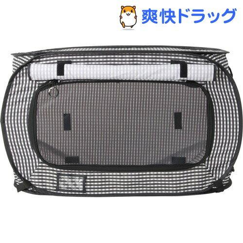 猫壱 ポータブル ケージ ブラック(1コ入)【猫壱】