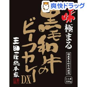 三田屋総本家 黒毛和牛のビーフカレーDX(220g)【三田屋総本家】