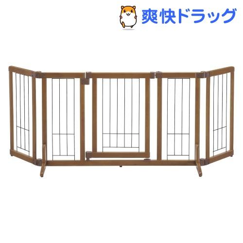 リッチェル ペット用木製おくだけドア付きゲート Mサイズ(1台)