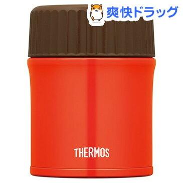 サーモス 真空断熱スープジャー 0.38L レッド JBU-380 R(1コ入)【サーモス(THERMOS)】【送料無料】