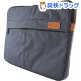 キング ノートPC用キャリングケース KMIC360-15.6 デニム〜15.6インチ対応(1コ入)
