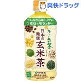 お〜いお茶 日本の健康 玄米茶 HOT対応PET(500mL*24本入)