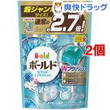 ボールド ジェルボールWプラチナ プラチナホワイトリーフの香り 詰替用 超ジャンボ(940g*2コセット)