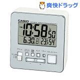 カシオ 電波置時計 シルバー DQD-805J-8JF(1コ入)