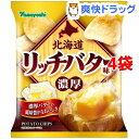 ポテトチップス 北海道リッチバター味(55g*4袋セット)