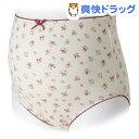 犬印 マタニティショーツ 花柄ドットプリント SH2395 ピンク L〜LLサイズ(1枚入)【犬印】