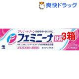小林製薬 フェミニーナ軟膏S(30g*3コセット)