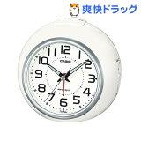 カシオ 電波置時計 ホワイト・シルバー TQ-760J-7JF(1コ入)