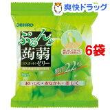 ぷるんと蒟蒻ゼリー 新パウチ マスカット(20g*6コ*6セット)