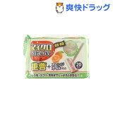 マイクロウエットワイパー 重曹+オレンジオイル配合(20枚入)