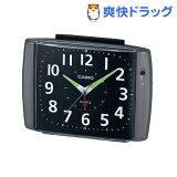 カシオ 置時計 ブラックメタリック TQ-382-1JF(1コ入)