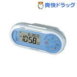 カシオ 電波置時計 ブルー SQD-1000SJ-2JF(1コ入)