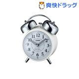カシオ 電波置時計 ホワイト TQ-720J-7JF(1コ入)