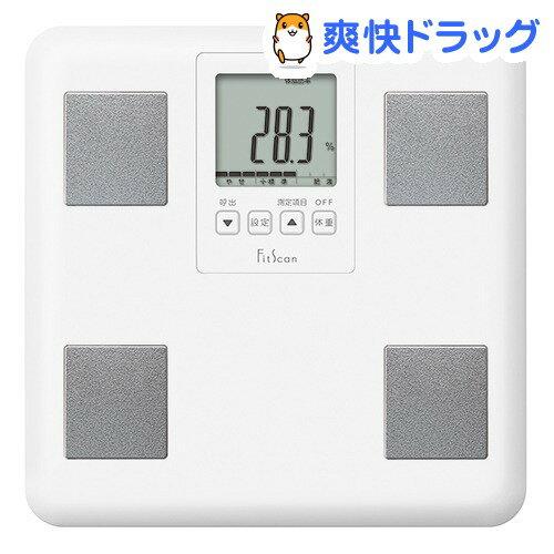 タニタ 体組成計 フィットスキャン ホワイト FS-400(1台)【タニタ(TANITA)】【送料無料】