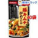 ダイショー 豚キムチ炒めのたれ(80g*40袋セット)