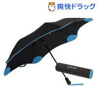 ブラントXSメトロセカンドジェネレーション折りたたみ傘ブラック/ブルー