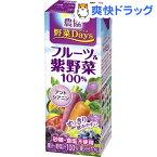 農協 野菜Days フルーツ&紫野菜100%(200mL*18本入)